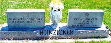 HUNZICKER, GLADYS FERN - Box Butte County, Nebraska | GLADYS FERN HUNZICKER - Nebraska Gravestone Photos