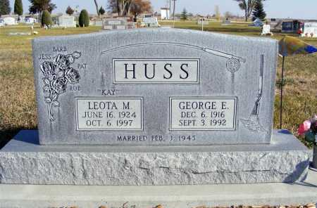 HUSS, LEOTA M. - Box Butte County, Nebraska | LEOTA M. HUSS - Nebraska Gravestone Photos