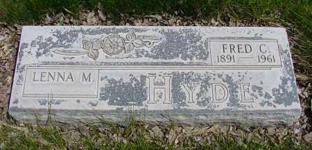 HYDE, FRED C. - Box Butte County, Nebraska | FRED C. HYDE - Nebraska Gravestone Photos