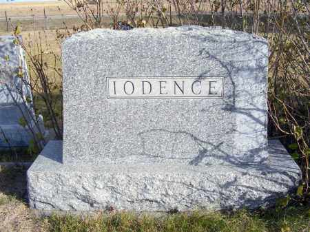 IODENCE, FAMILY - Box Butte County, Nebraska | FAMILY IODENCE - Nebraska Gravestone Photos