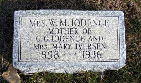 CULLIFORD IODENCE, MARY - Box Butte County, Nebraska | MARY CULLIFORD IODENCE - Nebraska Gravestone Photos