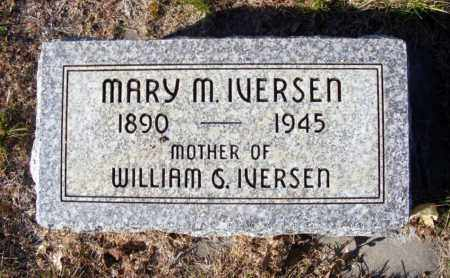 IODENCE IVERSEN, MARY M. - Box Butte County, Nebraska | MARY M. IODENCE IVERSEN - Nebraska Gravestone Photos