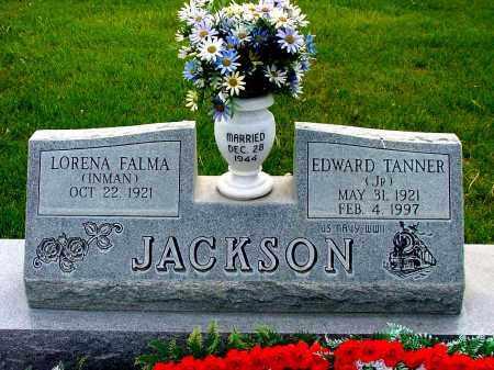 JACKSON, LORENA FALMA - Box Butte County, Nebraska   LORENA FALMA JACKSON - Nebraska Gravestone Photos