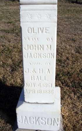 BALL JACKSON, OLIVE - Box Butte County, Nebraska   OLIVE BALL JACKSON - Nebraska Gravestone Photos
