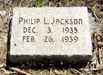 JACKSON, PHILIP L. - Box Butte County, Nebraska   PHILIP L. JACKSON - Nebraska Gravestone Photos