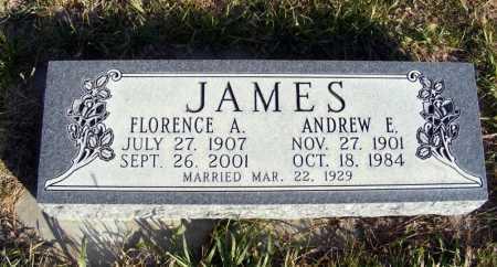 JAMES, FLORENCE A. - Box Butte County, Nebraska | FLORENCE A. JAMES - Nebraska Gravestone Photos
