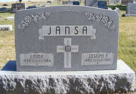 JANSA, JOSEPH F. - Box Butte County, Nebraska | JOSEPH F. JANSA - Nebraska Gravestone Photos