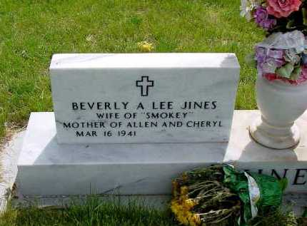 JINES, BEVERLY A. - Box Butte County, Nebraska | BEVERLY A. JINES - Nebraska Gravestone Photos