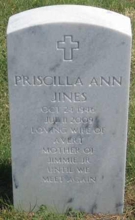 JINES, PRISCILLA  ANN - Box Butte County, Nebraska | PRISCILLA  ANN JINES - Nebraska Gravestone Photos