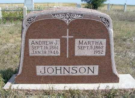 JOHNSON, ANDREW J. - Box Butte County, Nebraska | ANDREW J. JOHNSON - Nebraska Gravestone Photos