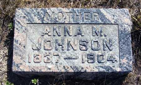 JOHNSON, ANNA M. - Box Butte County, Nebraska | ANNA M. JOHNSON - Nebraska Gravestone Photos