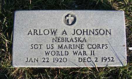 JOHNSON, ARLOW A. - Box Butte County, Nebraska   ARLOW A. JOHNSON - Nebraska Gravestone Photos