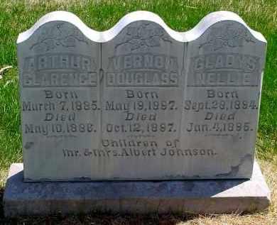 JOHNSON, ARTHUR CLARENCE - Box Butte County, Nebraska | ARTHUR CLARENCE JOHNSON - Nebraska Gravestone Photos