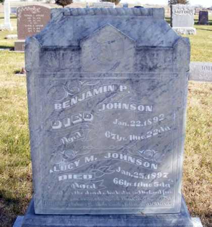 JOHNSON, LUCY M. - Box Butte County, Nebraska | LUCY M. JOHNSON - Nebraska Gravestone Photos