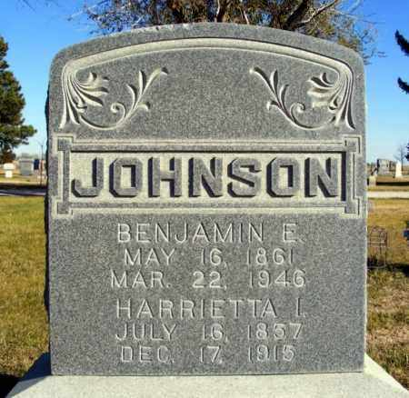JOHNSON, BENJAMIN E. - Box Butte County, Nebraska | BENJAMIN E. JOHNSON - Nebraska Gravestone Photos