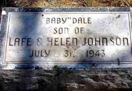 JOHNSON, BABY DALE - Box Butte County, Nebraska   BABY DALE JOHNSON - Nebraska Gravestone Photos