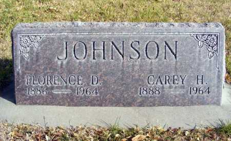 JOHNSON, FLORENCE D. - Box Butte County, Nebraska | FLORENCE D. JOHNSON - Nebraska Gravestone Photos