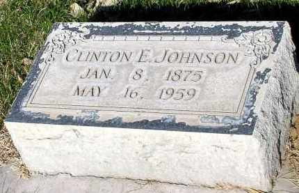 JOHNSON, CLINTON E. - Box Butte County, Nebraska | CLINTON E. JOHNSON - Nebraska Gravestone Photos