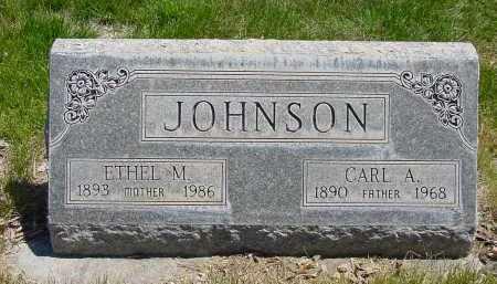 JOHNSON, ETHEL M. - Box Butte County, Nebraska | ETHEL M. JOHNSON - Nebraska Gravestone Photos