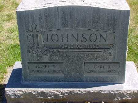 JOHNSON, CARL J. - Box Butte County, Nebraska | CARL J. JOHNSON - Nebraska Gravestone Photos