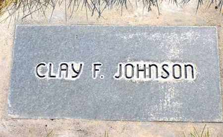JOHNSON, CLAY F. - Box Butte County, Nebraska | CLAY F. JOHNSON - Nebraska Gravestone Photos