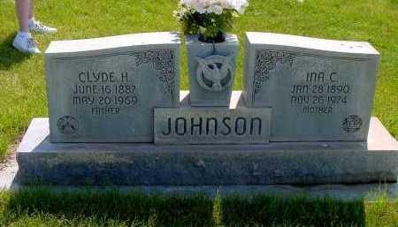 JOHNSON, CLYDE H. - Box Butte County, Nebraska   CLYDE H. JOHNSON - Nebraska Gravestone Photos