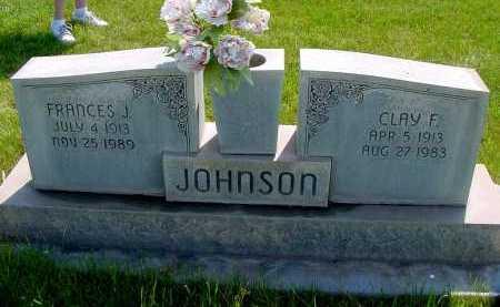 JOHNSON, CLAY F. - Box Butte County, Nebraska   CLAY F. JOHNSON - Nebraska Gravestone Photos