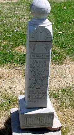 JOHNSON, ELSIE - Box Butte County, Nebraska | ELSIE JOHNSON - Nebraska Gravestone Photos