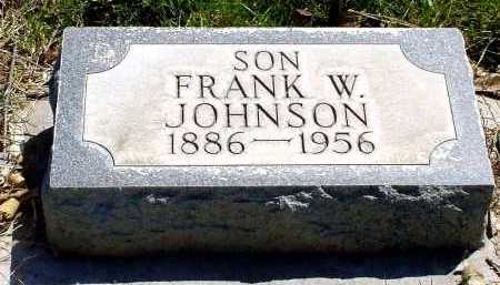 JOHNSON, FRANK W. - Box Butte County, Nebraska | FRANK W. JOHNSON - Nebraska Gravestone Photos