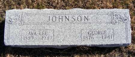 BROWN JOHNSON, AVA LEE - Box Butte County, Nebraska | AVA LEE BROWN JOHNSON - Nebraska Gravestone Photos
