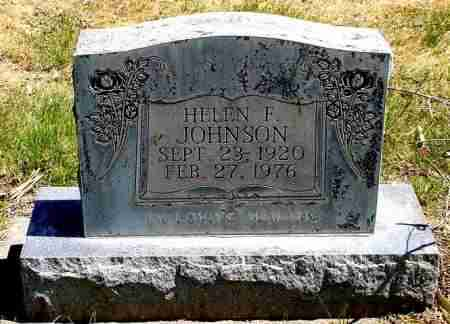 JOHNSON, HELEN F. - Box Butte County, Nebraska | HELEN F. JOHNSON - Nebraska Gravestone Photos
