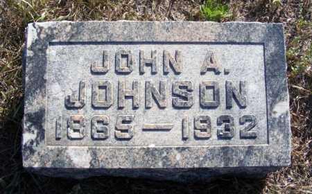 JOHNSON, JOHN A. - Box Butte County, Nebraska | JOHN A. JOHNSON - Nebraska Gravestone Photos