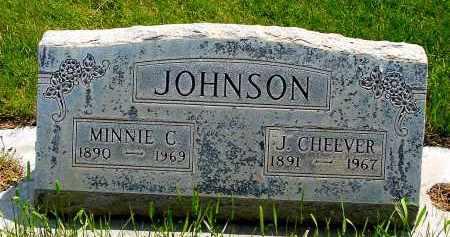 JOHNSON, MINNIE C. - Box Butte County, Nebraska | MINNIE C. JOHNSON - Nebraska Gravestone Photos