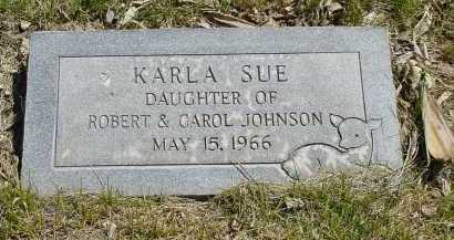 JOHNSON, KARLA SUE - Box Butte County, Nebraska | KARLA SUE JOHNSON - Nebraska Gravestone Photos