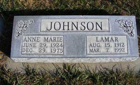 JOHNSON, LAMAR - Box Butte County, Nebraska | LAMAR JOHNSON - Nebraska Gravestone Photos