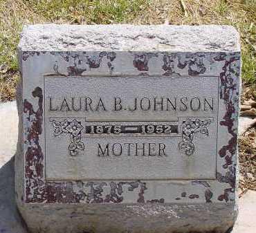 JOHNSON, LAURA B. - Box Butte County, Nebraska | LAURA B. JOHNSON - Nebraska Gravestone Photos
