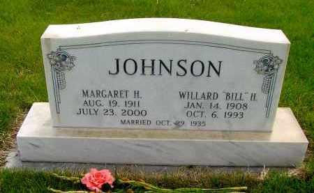 "JOHNSON, WILLARD ""BILL"" H. - Box Butte County, Nebraska | WILLARD ""BILL"" H. JOHNSON - Nebraska Gravestone Photos"