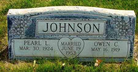 JOHNSON, PEARL L. - Box Butte County, Nebraska | PEARL L. JOHNSON - Nebraska Gravestone Photos