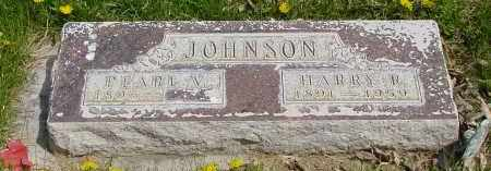 JOHNSON, PEARL V. - Box Butte County, Nebraska | PEARL V. JOHNSON - Nebraska Gravestone Photos