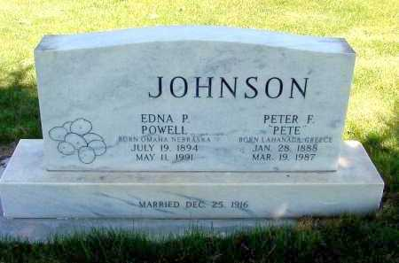 JOHNSON, EDNA P. - Box Butte County, Nebraska | EDNA P. JOHNSON - Nebraska Gravestone Photos