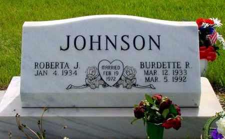 JOHNSON, ROBERTA J. - Box Butte County, Nebraska | ROBERTA J. JOHNSON - Nebraska Gravestone Photos