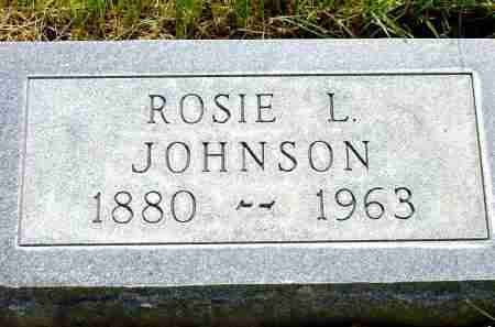 JOHNSON, ROSIE L. - Box Butte County, Nebraska   ROSIE L. JOHNSON - Nebraska Gravestone Photos