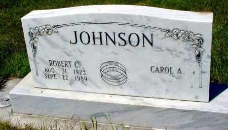 JOHNSON, ROBERT C. - Box Butte County, Nebraska | ROBERT C. JOHNSON - Nebraska Gravestone Photos