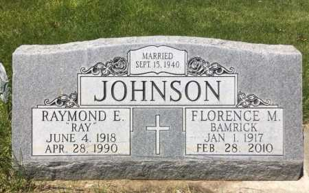 JOHNSON, FLORENCE M. - Box Butte County, Nebraska | FLORENCE M. JOHNSON - Nebraska Gravestone Photos