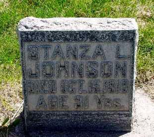 JOHNSON, STANZA L. - Box Butte County, Nebraska | STANZA L. JOHNSON - Nebraska Gravestone Photos