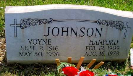 JOHNSON, VOYNE - Box Butte County, Nebraska | VOYNE JOHNSON - Nebraska Gravestone Photos