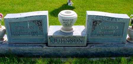 JOHNSON, VERLE R. - Box Butte County, Nebraska | VERLE R. JOHNSON - Nebraska Gravestone Photos