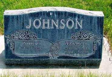 JOHNSON, RUTH F. - Box Butte County, Nebraska | RUTH F. JOHNSON - Nebraska Gravestone Photos