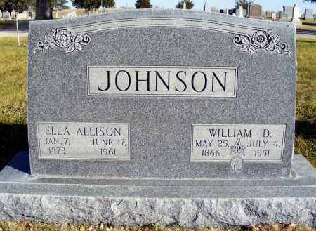 JOHNSON, ELLA ALLISON - Box Butte County, Nebraska | ELLA ALLISON JOHNSON - Nebraska Gravestone Photos