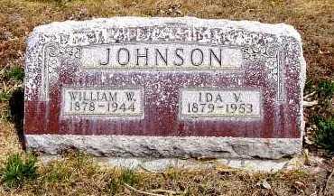 JOHNSON, IDA V. - Box Butte County, Nebraska | IDA V. JOHNSON - Nebraska Gravestone Photos